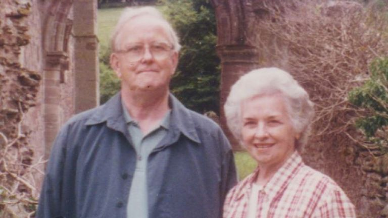 Alma was diagnosed with vascular dementia and Kingsley had Alzheimer's disease
