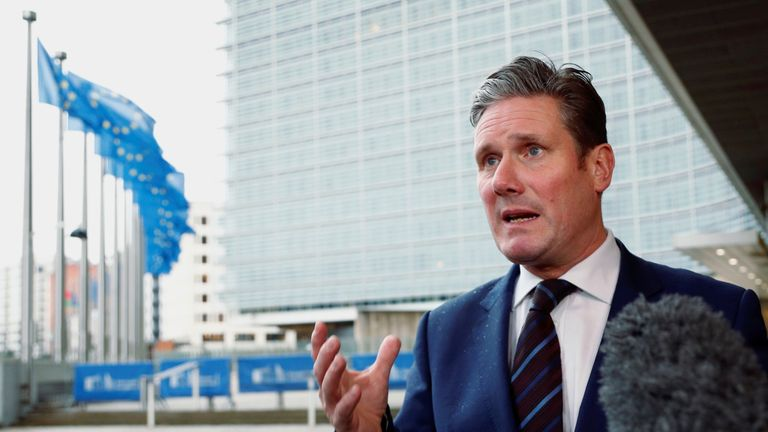 Sir Keir Starmer said there are no easy routes out of the government's 'mess'