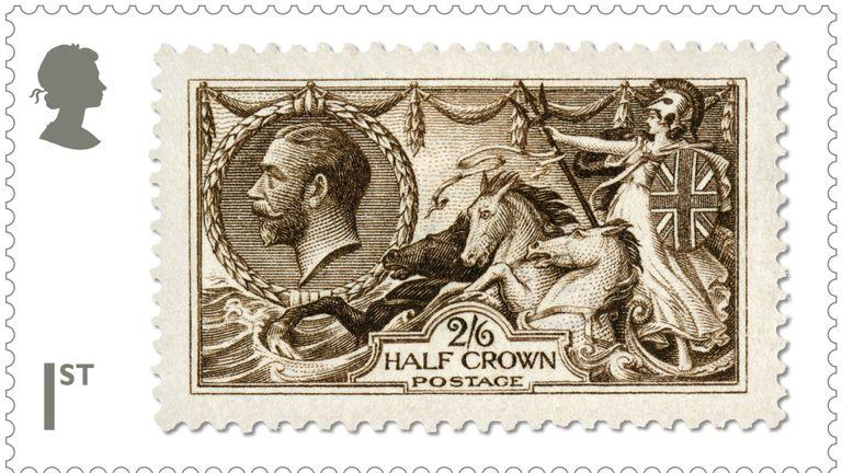 The King George V stamp