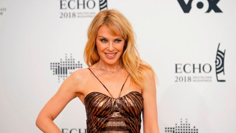 Kylie Minogue complained to police about being harassed
