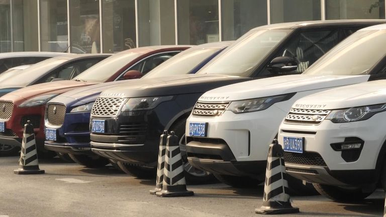 Land Rover has axed jobs as a result of dropping Chinese consumption