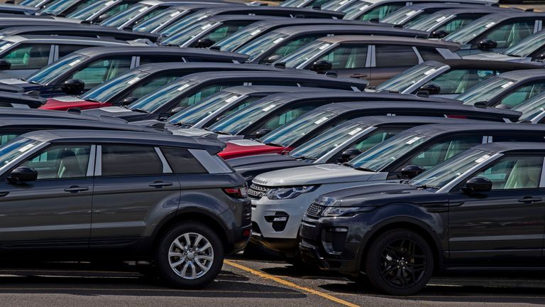 Jaguar Land Rover is feeling the effects of a slowdown in export markets such as China