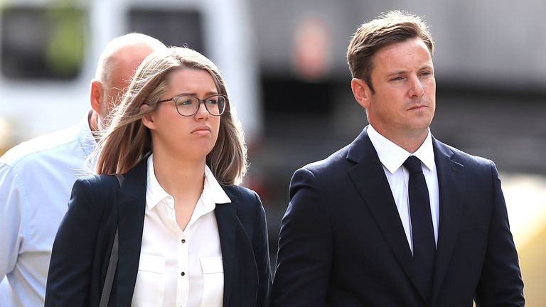 Liam Rosney, 32 and Victoria Rosney, 31, were initially charged over deleting call logs from their phones