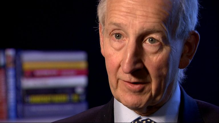 Lord Peter Ricketts, the former National Security Adviser.