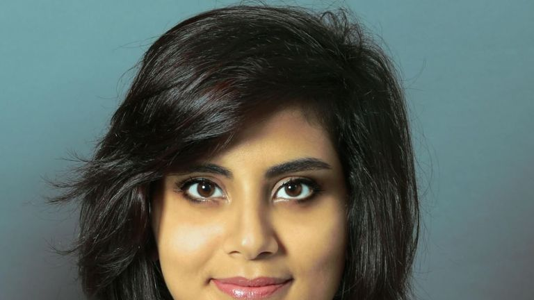 Loujain al-Hathloul is currently imprisoned