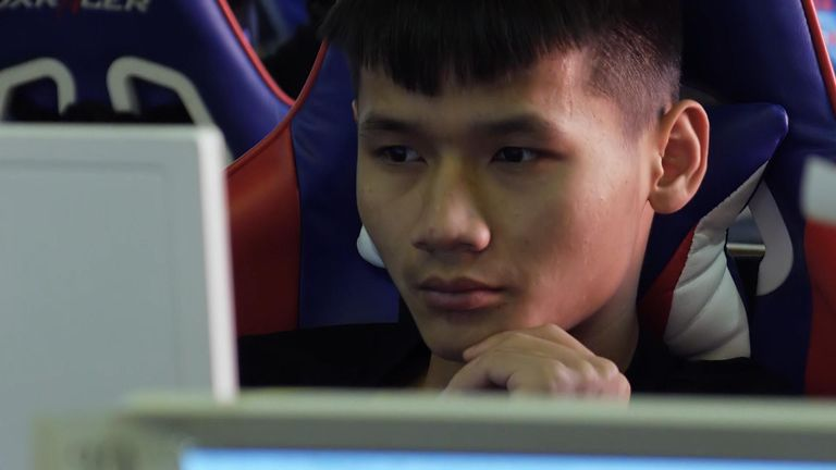 Lu Daimeng says he 'loves playing video games'