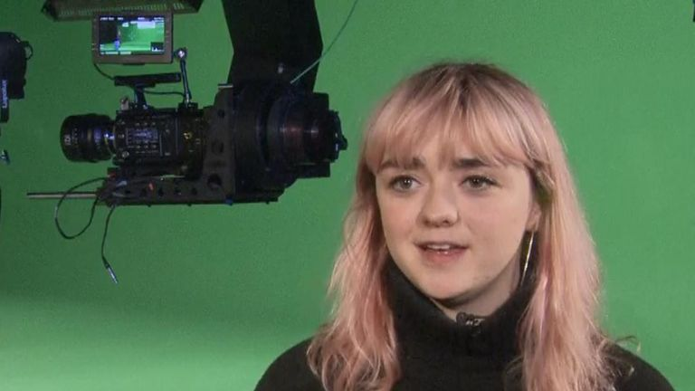 Game Of Thrones star Maisie Williams ponders how fans will deal with the show ending