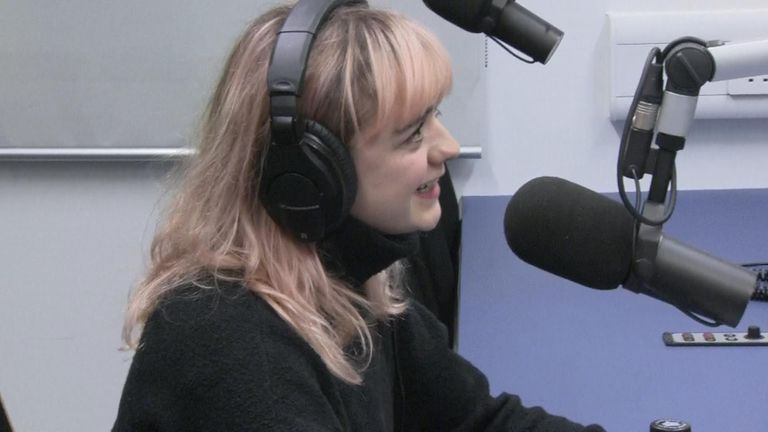 Maisie Williams gave an interview to the Birmingham University radio station