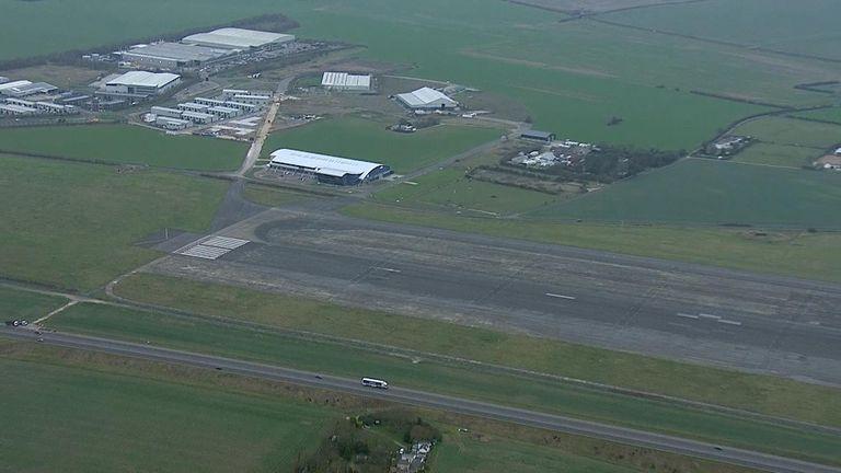 Manston airfield