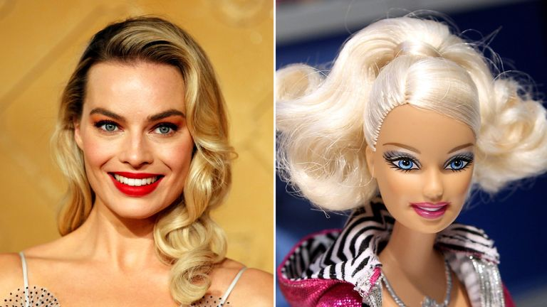 Margot Robbie will be the first person to play Barbie in a live-action film