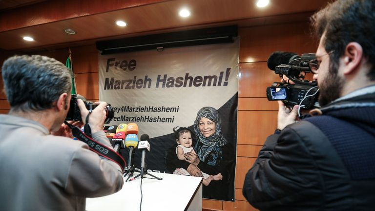 Calls for Marzieh Hashemi to be released have been made by Iran