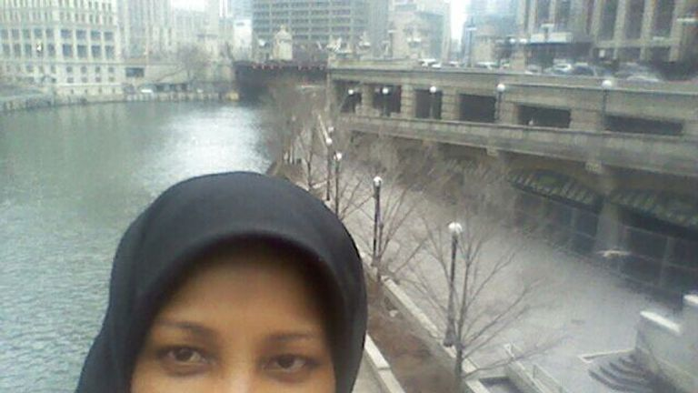 Marzieh Hashemi has worked for PressTV for 25 years. Pic: Marzieh Hashemi