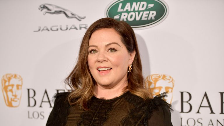 Melissa McCarthy attends The BAFTA Los Angeles Tea Party at Four Seasons Hotel Los Angeles at Beverly Hills