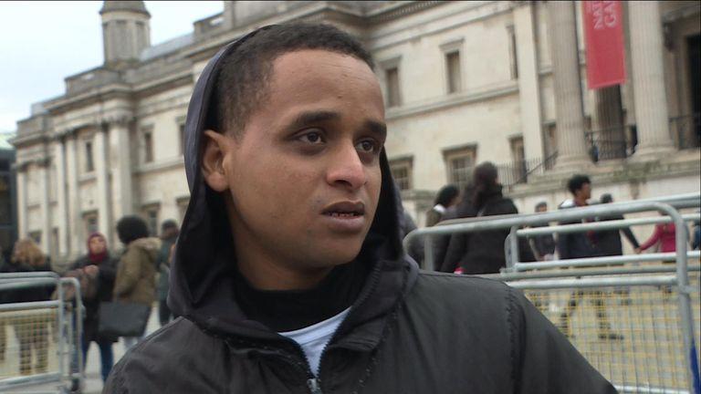 Kemal lbrahim fled Eritrea aged 15