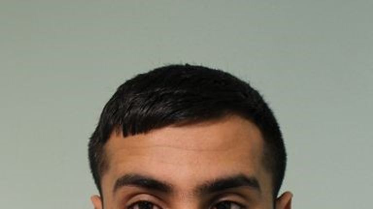 Mohammed Awais has been jailed for nine years. Pic: Met police