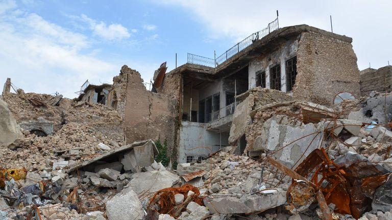 Destruction in the old city of Mosul. Pic: UN Habitat