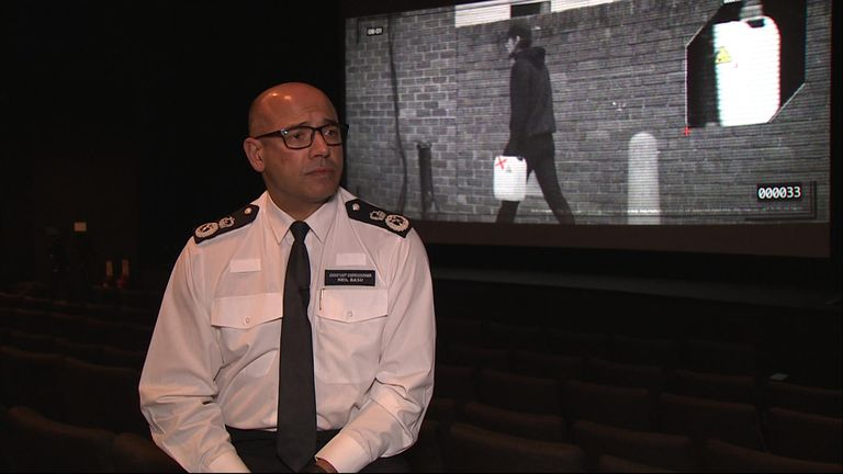 Assistant Commissioner Neil Basu says the public's help has been vital