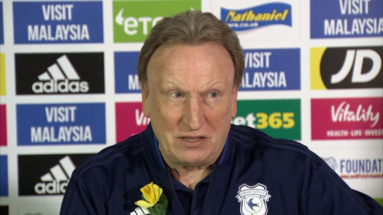 Cardiff City manager Neil Warnock praised Emiliano Sala's family during a press conference
