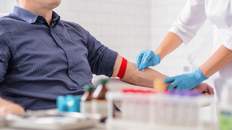 Blood donation sessions are being stopped in two centres for about eight weeks