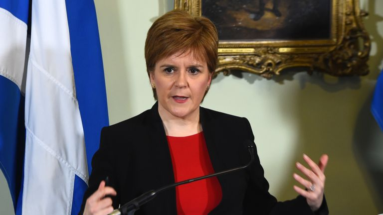 Nicola Sturgeon met with Alex Salmond three times after he was sexual harassment claims were made against him