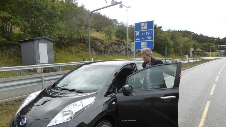 Nissan Leaf electric car