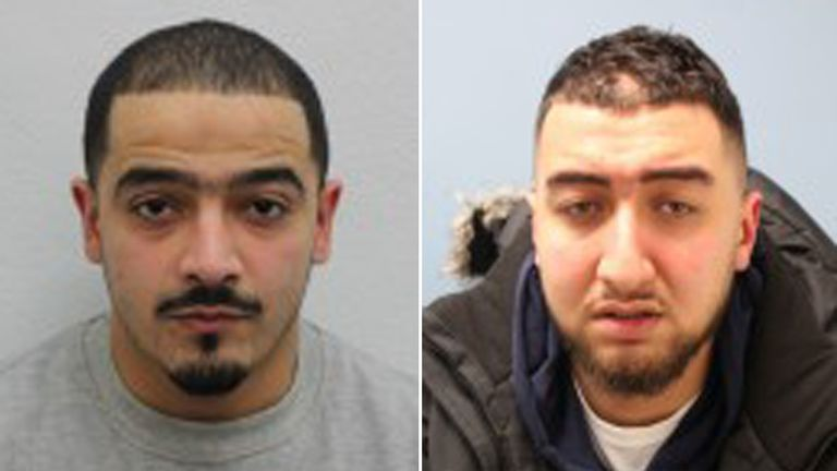 Ossama Hamed (left) and Nor Aden Hamada (right) need to be caught, say police
