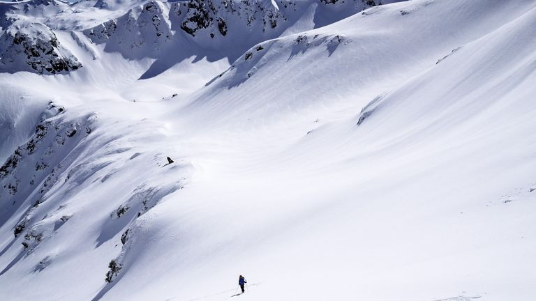 Two snowboarders died in the Pirin Moutains in Bulgaria. File pic