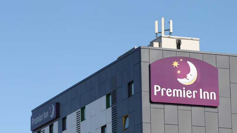 Whitbread still operates pubs but the bulk of its sales come from the Premier Inn budget hotel chain