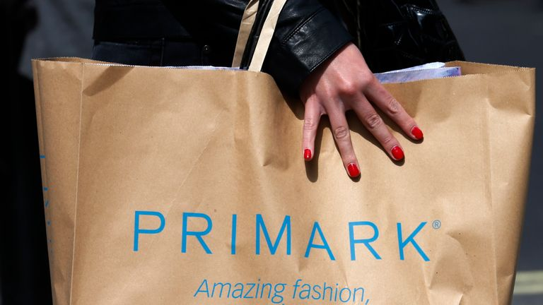 Pirmark has apologised after a bone was found in a pair of socks