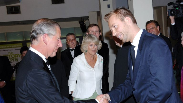 Prince Charles and Alex King in 2006