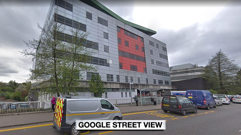 'Control measures' have now been taken at the hospital