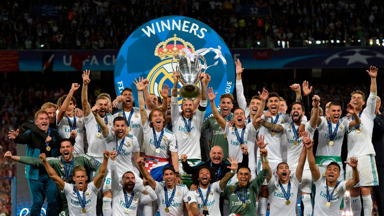 Real Madrid's Champions League win helped boost earnings