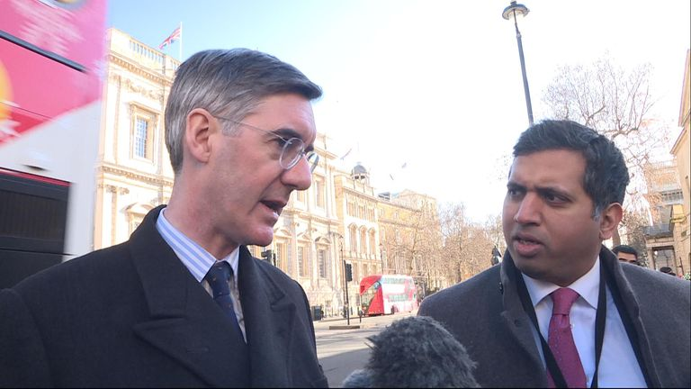 Jacob Rees-Mogg MP said his support rests on ensuring the body of the Brexit deal text is changed, or nullified by a codicil.