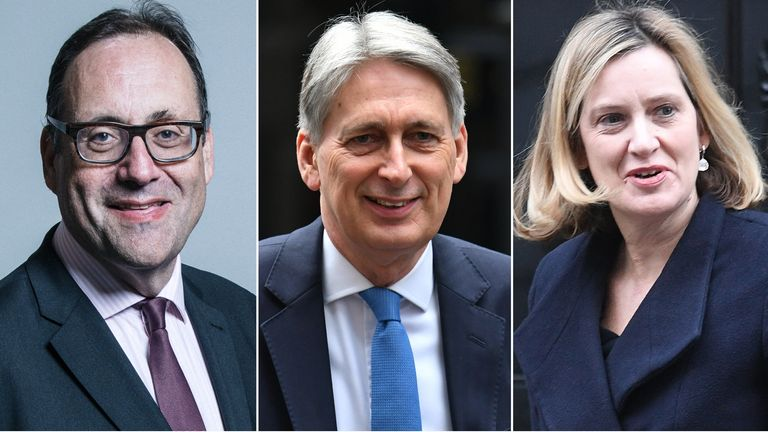 Richard Harrington, Philip Hammond, Amber Rudd
