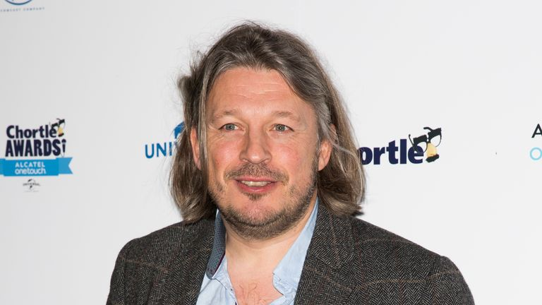 Richard Herring attends the Chortle Awards at Ministry Of Sound on March 26, 2014