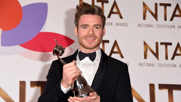Richard Madden won big for Bodyguard