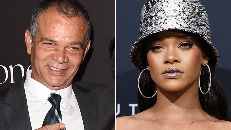 "The lawsuit says the Umberella singer has ""absoluetly no affiliation"" with her father's Fenty Entertainment business"