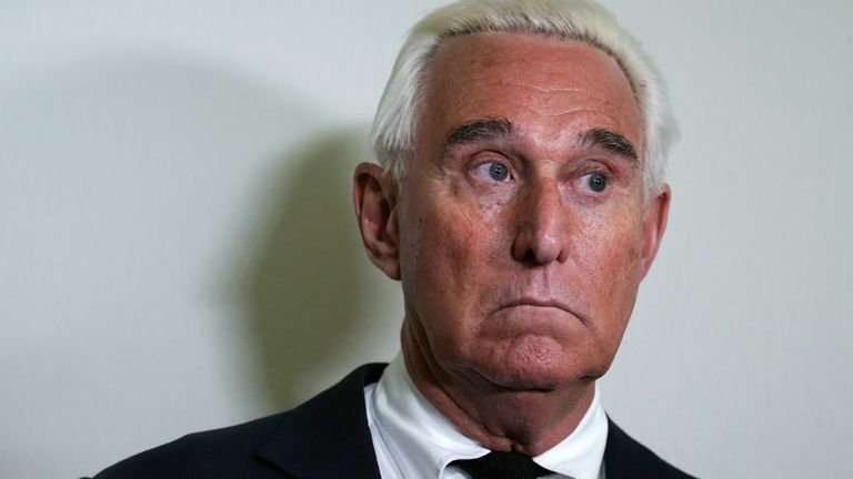 Roger Stone is one of Donald Trump's long-time associates