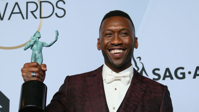 Mahershala Ali at the Screen Actors Guild (SAG) Awards