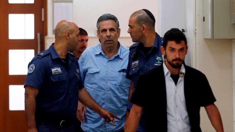 Gonen Segev, a former Israeli cabinet minister, will serve 11 years in prison