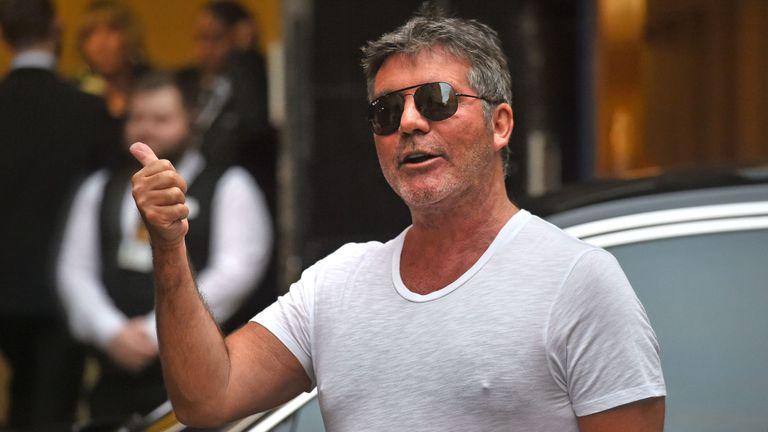 Simon Cowell said McPartlin had rejoined his 'family'