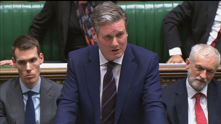 Labour's Sir Keir Starmer suggests Brexit delay 'may well be