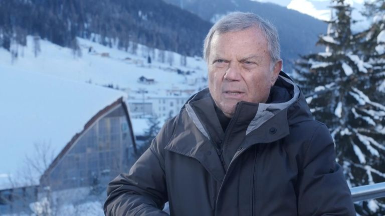 Sir Martin Sorrell has said Britain should seek to attract tech giants after Breixt