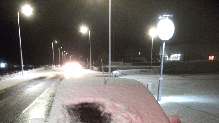 Police Scotland released this image of a motorist who received a fixed penalty notice in the Highlands