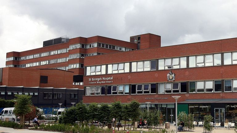 "The heart unit at St George's Hospital was said to have been consumed by a ""dark force"""