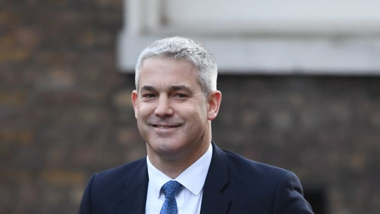 Brexit Secretary Stephen Barclay arrives in Downing Street for a cabinet meeting