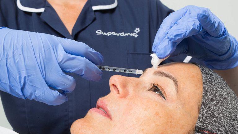 Superdrug cosmetic treatment