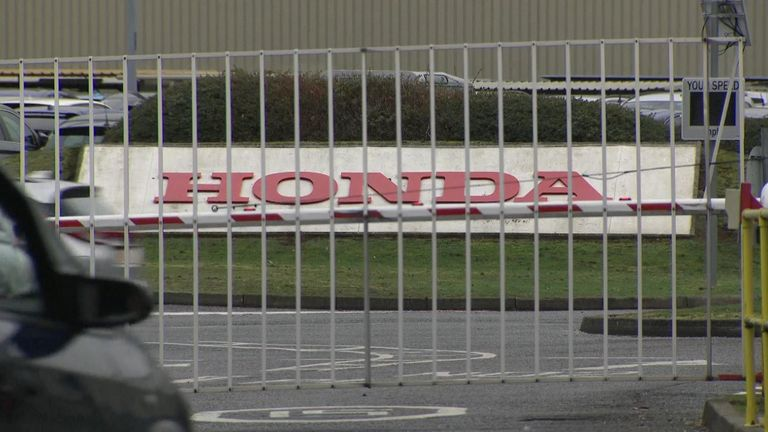 Honda employs 4,000 people in Swindon