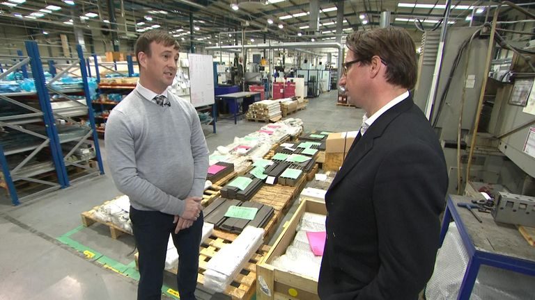 Ian McCartney from Wilson tools said they encouraged their workers to vote remain