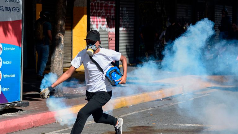 Venezuela's opposition leader orders more protests